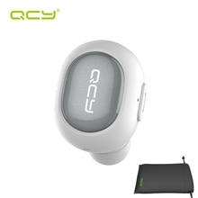 QCY наборы моно Q26 автомобиль звонки наушники беспроводные наушники bluetooth-гарнитура для iPhone Android Телефон и портативный мешок