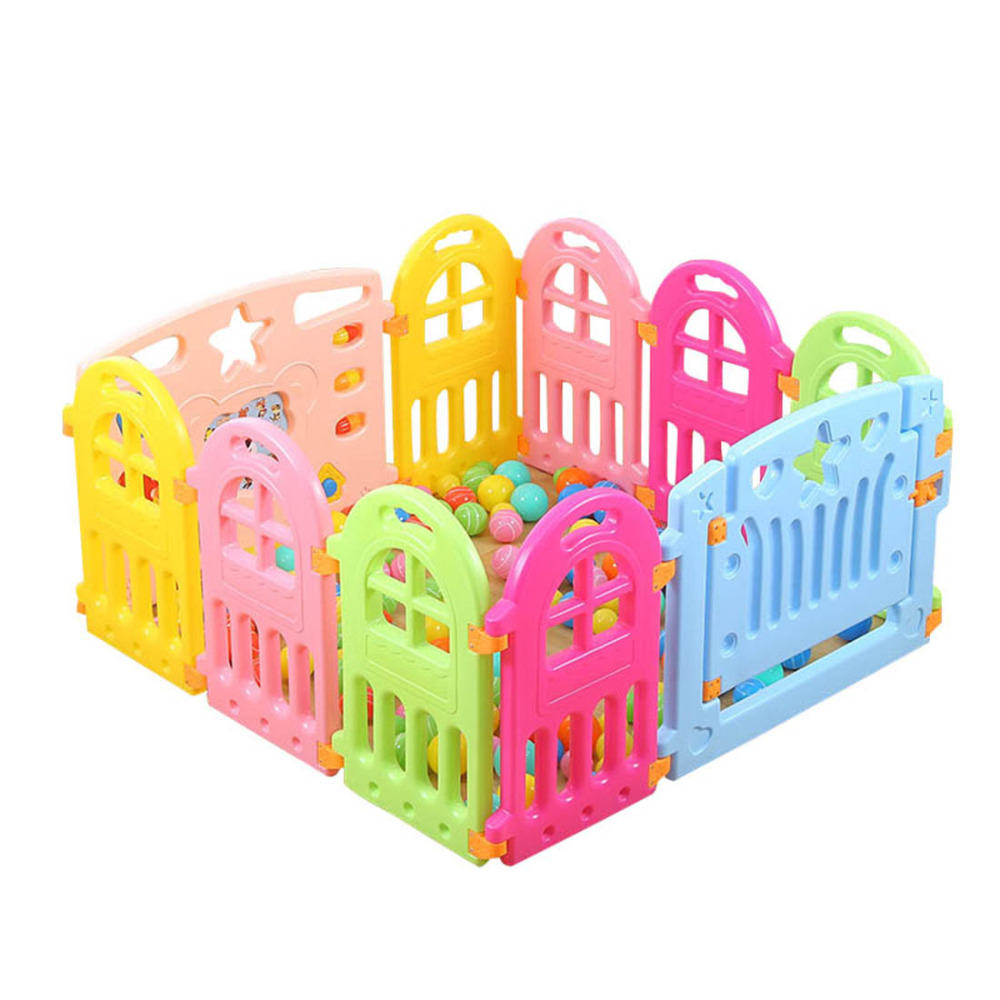 Baby Playpens Fence Kids Play Yard Barrier Fencing for Children Indoor Baby Fence Game Playpen Playhouse Game Play Fence dog fence wireless containment system pet wire free fencing kd661