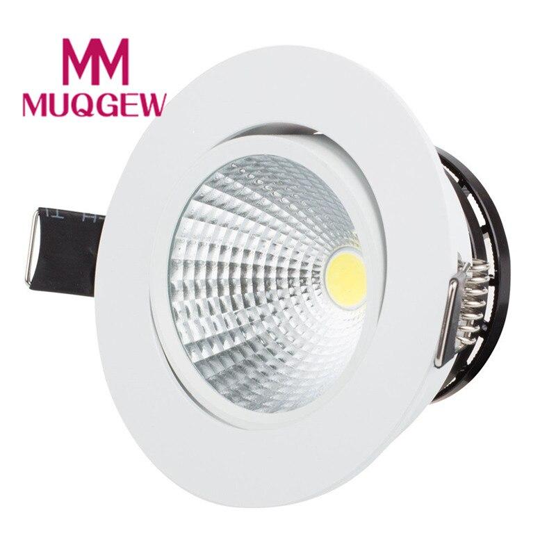 Потолочный светильник прожектор УДАРА светодиодный затемнения 3 Вт 5 Вт 7 Вт встраиваемый потолочный светильник пятно света лампы Kit мягкое ...