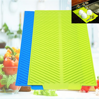 43 33CM 324G Big Portable Useful Non Toxic New Design Silicone Dish Drying Mat For Free