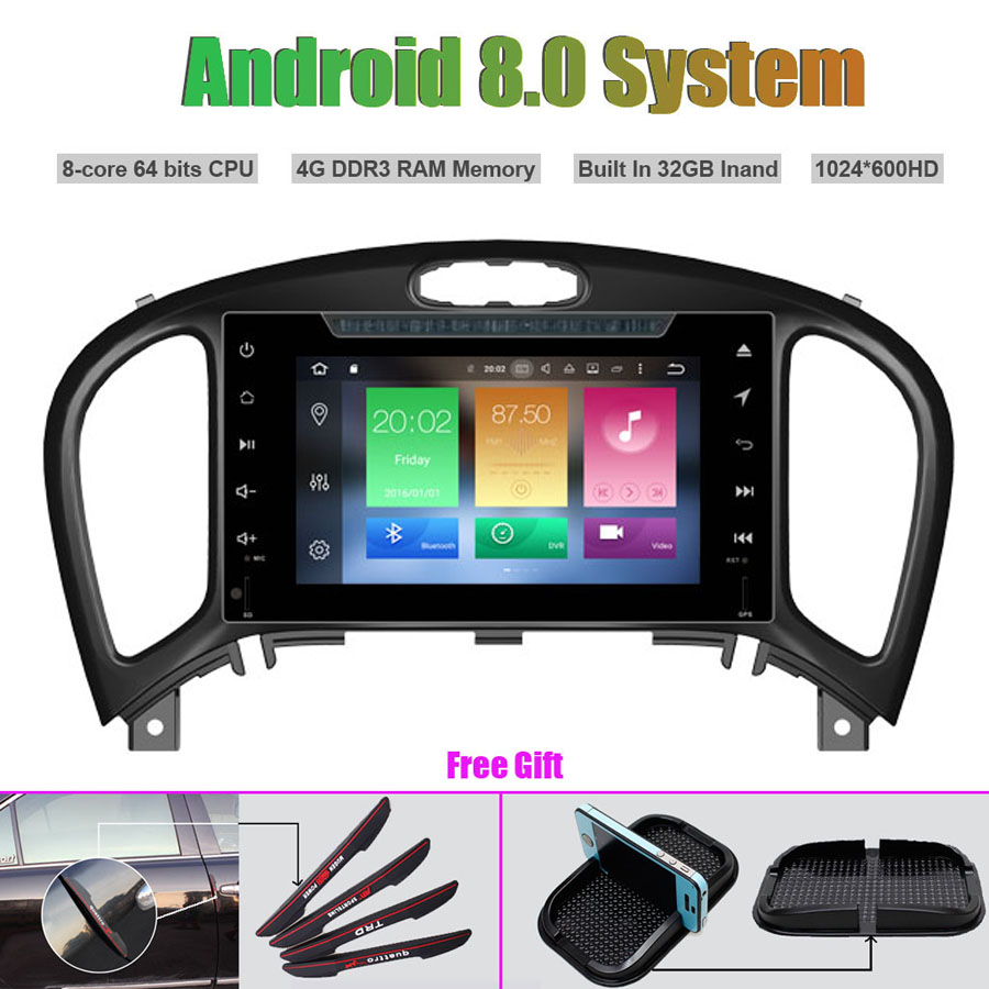 Octa-Core Android 8.0 CAR Multi-Media Player for NISSAN JUKE2017