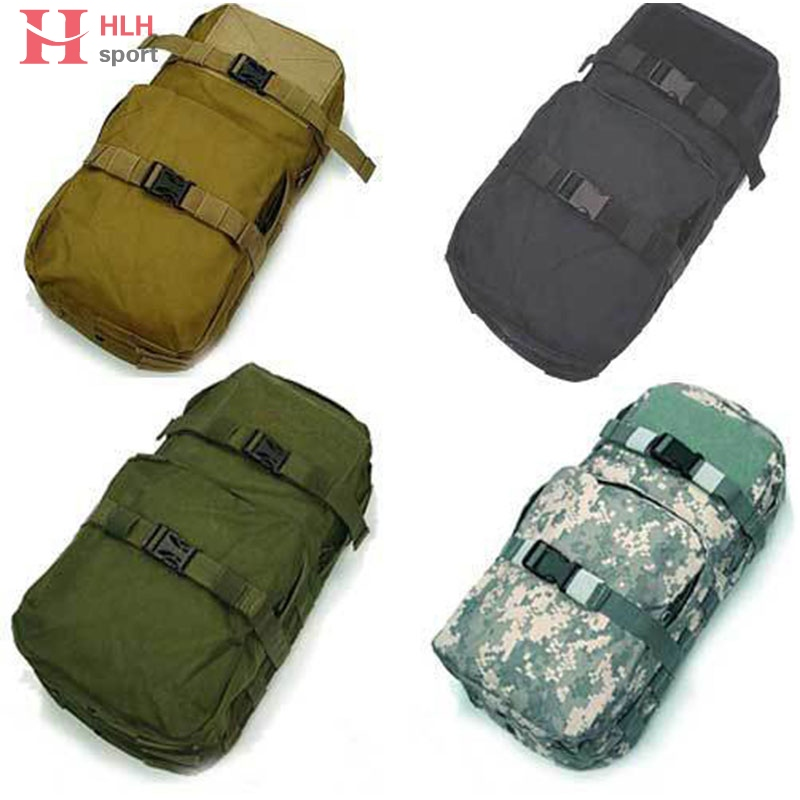 MBSS 3L Hydration Pack Water Rucksack Backpack Molle Tactical Water Pack Pouch Outdoor Sport Camping Hiking Hunting Bag 3l tactical water bottle bag knapsack hydration backpack pouch hiking camping cycling pack canteen water bag molle