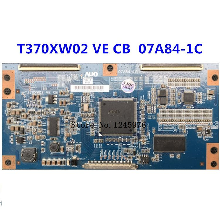 free shipping Original KLV-37S400A Logic board T370XW02 VE CB 07A84-1C in stock good test T370XW02 VE CB 07A84-1C dhl ems i lacs industrial board acs 6172 ve c1 2 good in condition for industry use a1