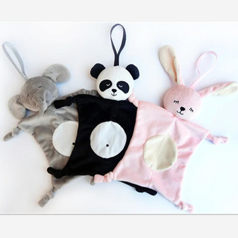 Babies Plush Soothing Toys Security Blanket Baby Toys Soothing Towel For Baby Care