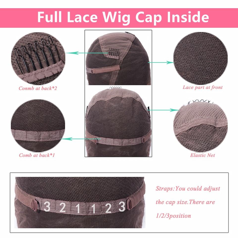 full lace wig cap inside