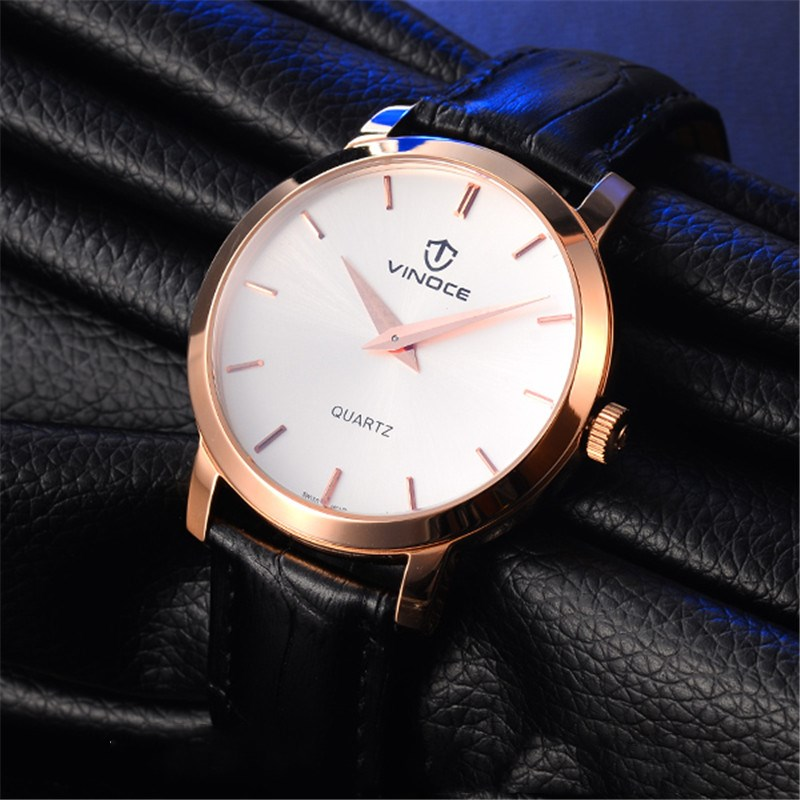 VINOCE Wristwatch Original Quartz Watch Men Top Brand Luxury Fashion Wrist Watch Male Clock for Men Hodinky Relogio Masculino new listing men watch luxury brand watches quartz clock fashion leather belts watch cheap sports wristwatch relogio male gift