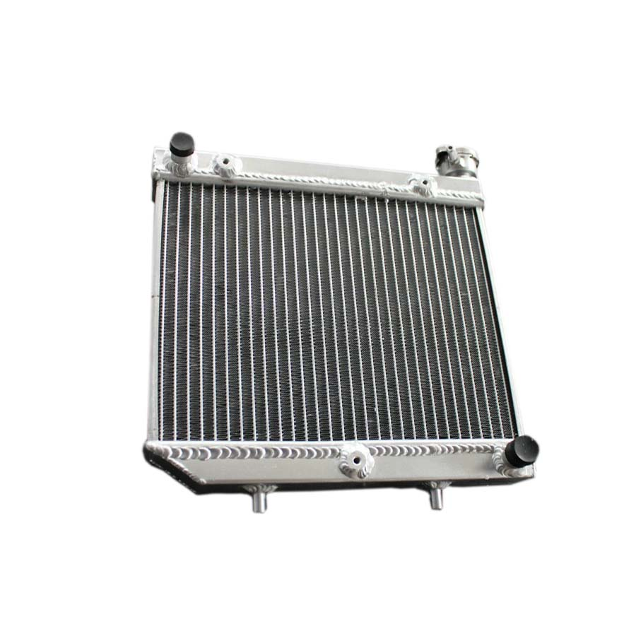 ФОТО ATV Aluminum Alloy radiator For Honda TRX450R TRX 450ER 4-STROKE 449cc 04-2009 motorcycle replacement parts engine cooling parts