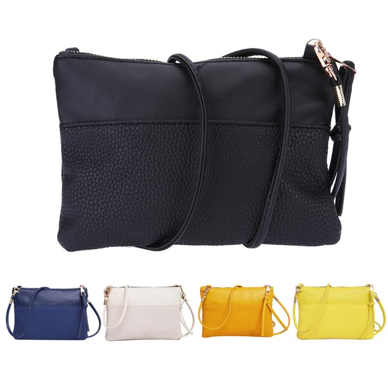 2019 Women Small Messenger Bag Leather Sling Shoulder Bags Female Shoulder Crossbody Bags Mini Clutch Handbags Bolsas Feminina