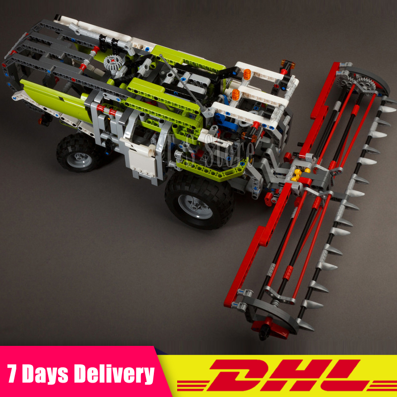 DHL IN Stock LEPIN 20041 1107Pcs Technic Serie The Combine Harvester Set 8274 Educational Building Blocks Bricks Toys Model Gift dhl lepin 18032 2932 pcs the mountain cave my worlds model building kit blocks bricks children toys clone21137 in stock
