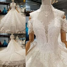 3ca84cca97 Ivory Lace Ball Gowns Wedding Dresses Custom Made Sexy Sweetheart Off  Shoulder Floor Length Corset 3D Flowers Bridal Gowns