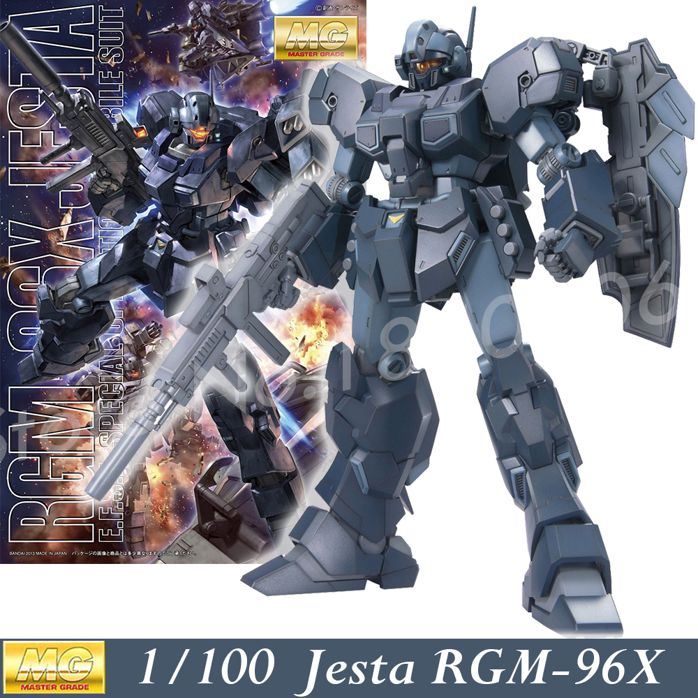 Daban Model MG Gundam UC Jesta RGM-96X Mobile suit 1/100 Scale Master Grade Action Figures Anime Robot kids assembled toys free shipping action figures robot anime assembled gundam mg 1 100ew wing zero gundam luminous stickers original box gundam