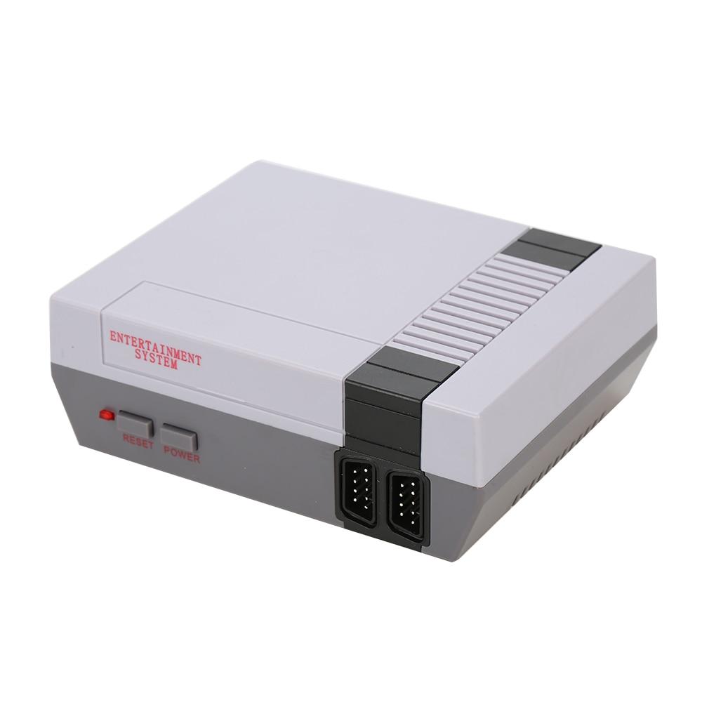 Ретро Видео игровой консоли мини ТВ ручной Семья Отдых Встроенный 500 классических различных игр двойной геймпад игровой плеер