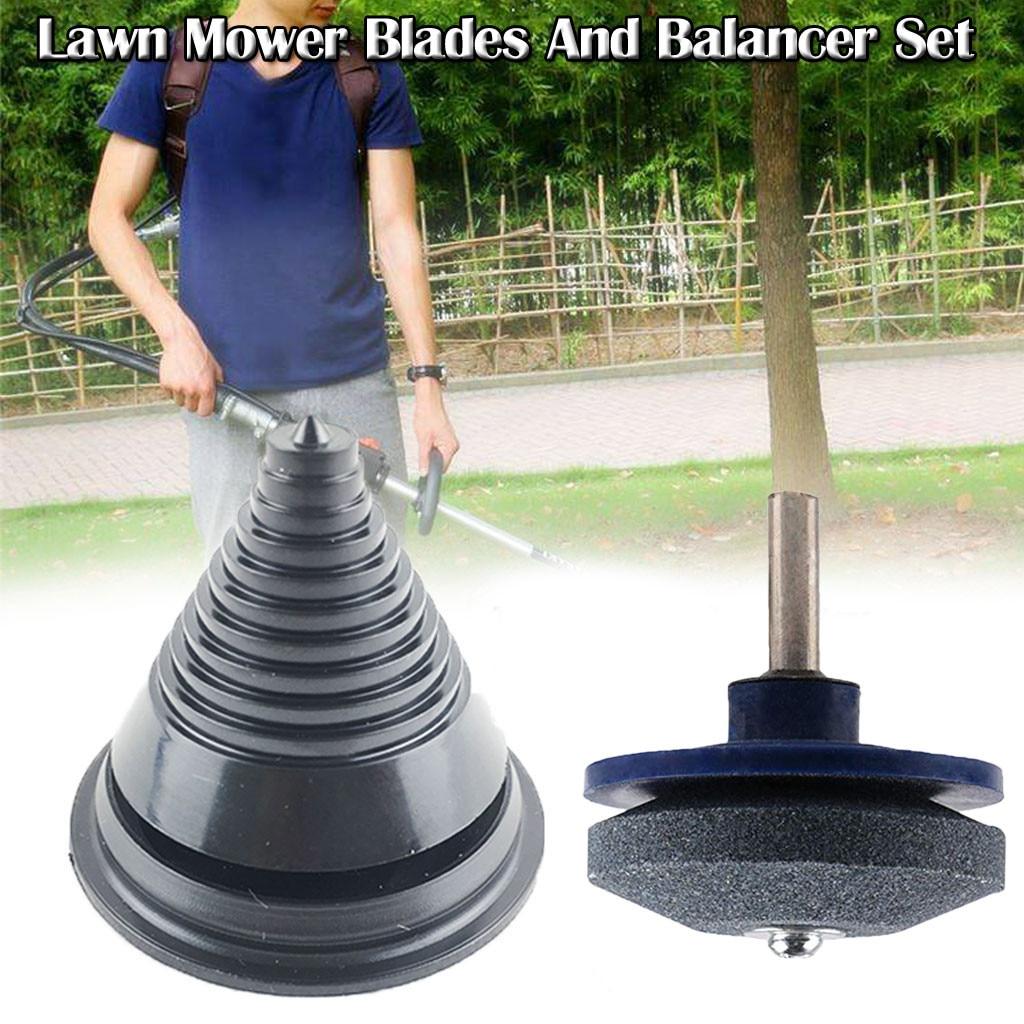Lawn Mower Blades Drill Sharpener Lawnmower Rotary Blade Garden Tool Sharpener For Rotary Drill Cuts Blade Sharpener #LR1