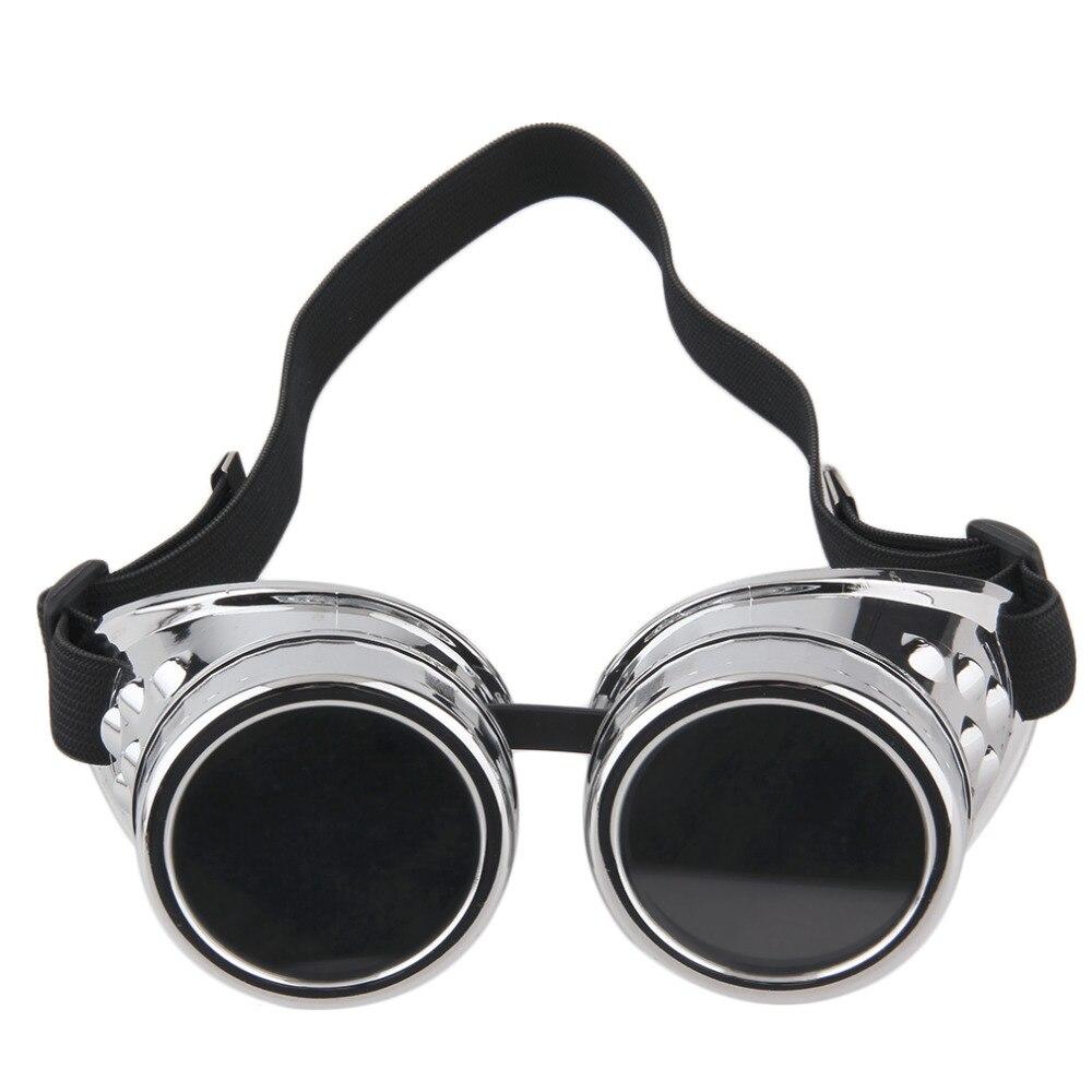 Steampunk Glasses Vintage Retro Welding Punk Gothic Sunglasses Stylish Retro Steampunk(China)