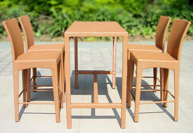Outdoor furniture Bar table rattan chair bar stool tall tables and chairs Set Rio & Outdoor furniture Bar table rattan chair bar stool tall tables and ...