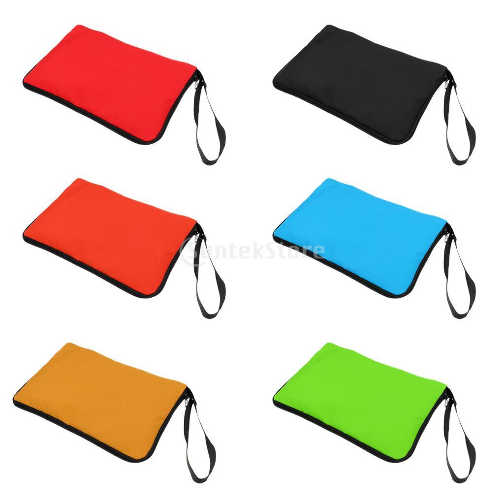 Waterproof 25.5*18cm Guide Book Manual Map Zip Cover Case