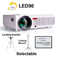 LED96 Projector Video HDMI USB DVB T 5500 Lumens Full HD 1080P Home Theater 3D LED