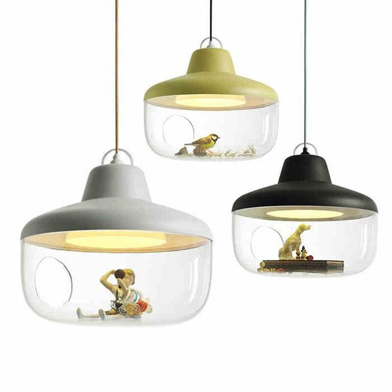 Nordic Art Acryl Pendant Lamp Lovely Personality Children Light Restaurant Hanging Light Bedroom Light Fixtures With