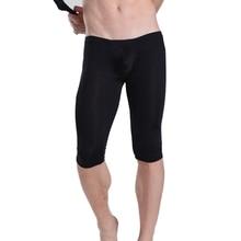 Manview Pajamas Ultra Thin Men Pants Thermal Mens Mild Length Polyester Bodybuilding Underwear Nylon Joggers