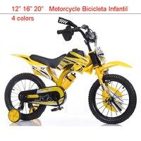"""16 """"Mountainbikes für Kind Motorrad Stimmgebung Kinderfahrrad Spielzeug Bar Bicicleta Infantil 4 farben Fehlerhafteste Mdash Pedal Kind-in Fahrrad aus Sport und Unterhaltung bei"""