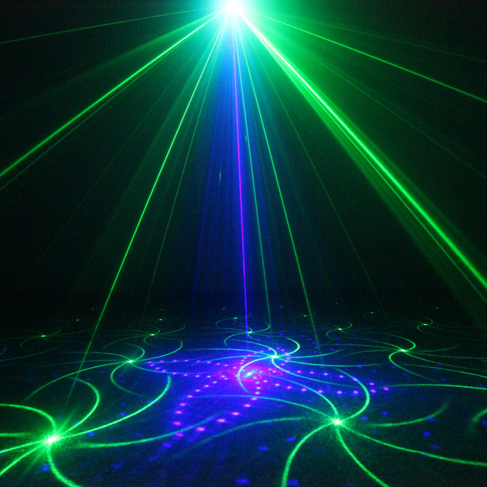 Chims DJ Laser 3 Lens 20 Pattern Club GB Laser Blue LED Stage Lighting Home Party Professional Projector Xmas Light Disco L20GB chims party laser 96 pattern rgb laser lighting led colorful decoration lighting music stage projector xmas disco dance dj club