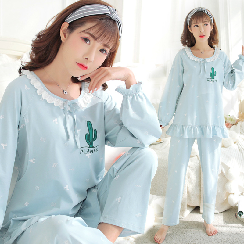 Maternity clothing pajamas Summer Pregnant Women Home Clothes Cotton Suit Nursing Breastfeeding Nightgown Sleepwear цена