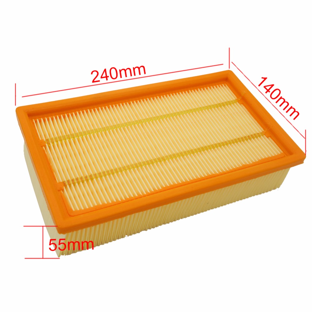 Air Filter Vacuum Cleaner For KARCHER NT25/1 NT35/1 NT45/1 NT55/1 NT361 ECO NT561 ECO NT611 ECO Replacement Filters Oil-Proof skyway eco