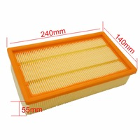 Air Filter Vacuum Cleaner For KARCHER NT25 1 NT35 1 NT45 1 NT55 1 NT361 ECO