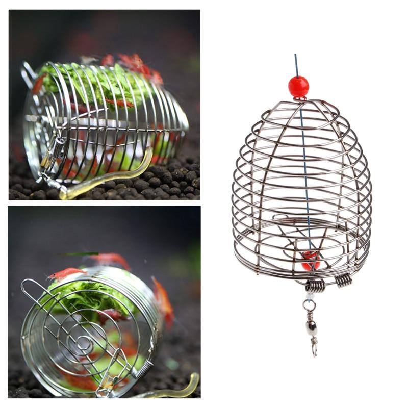 Stainless Steel Aqaurium Shrimp Feeder Cage Dry Spinach Food Bottom Basket Shrimp Tank Bottom Feeder for Fish Floating Food Кормушка