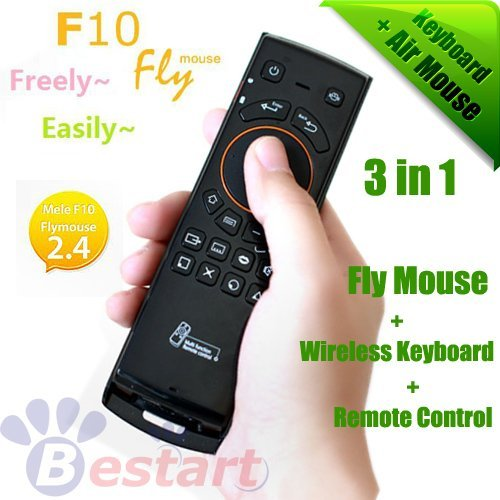 2012 Android TV Box Partner, 2.4GHz, 3 in 1, Fly Air Mouse + wireless Keyboard + Remote Control for PC for Android Google TV BOX