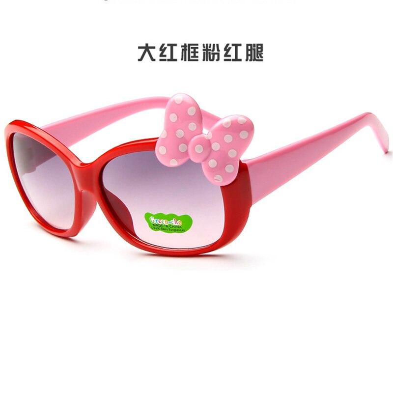 děti princezna roztomilé dítě Hello- brýle Velkoobchod Vysoce kvalitní chlapci gilrs suanglassLetní stylNové módní dětské sluneční brýle