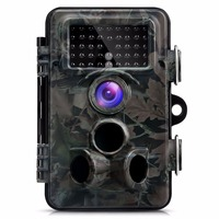 Trail Camera Infrared HD 1080P Wide Angle Waterproof 12MP Night Vision Motion Detection Outdoor Hunting IR flash Hunting Camera