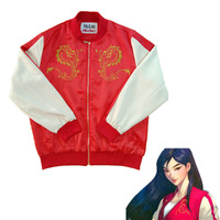 Ralph Breaks the Internet: Wreck It Ralph 2 Mulan Mushu Dragon Jacket Coat Top
