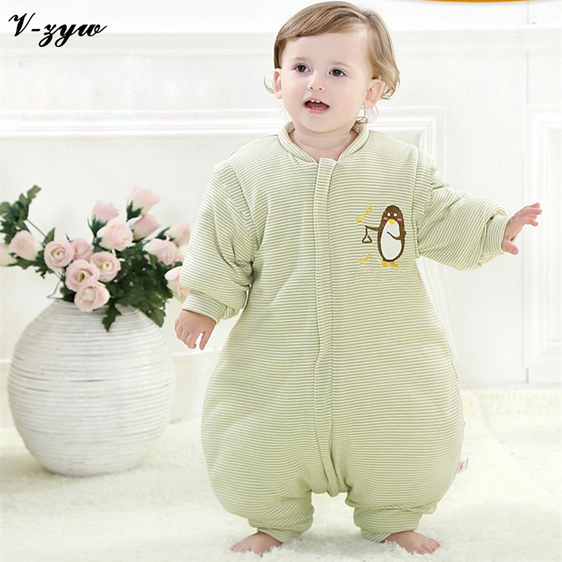2017 Fashion Infants Kids Cartoon Baby Sleeping Bag Newborn Cotton Winter and Autumn Baby Sleep Sack Warm Children Blanket YS017 2017 winter baby coat kids warm cotton outerwear coats baby clothes infants children outdoors sleeping bag zl910