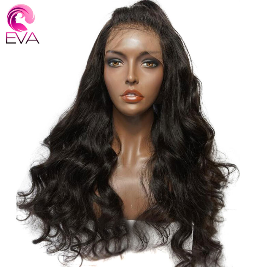 Eva Hair 250% Density Lace Front Human Hair Wigs Pre ...