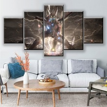 Canvas Wall Art Painting Avengers Endgame Movie 5 Piece HD Print Modern For Living Room Artwork