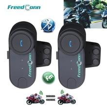 2 шт FreedConn TCOM-OS 100m BT Bluetooth мотоциклетный шлем Интерком Переговорная гарнитура мотоциклетные шлемы наушники для полной торговли
