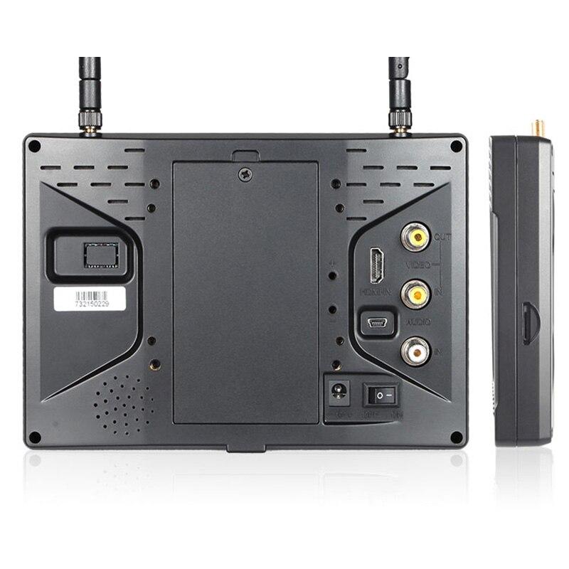 Pvr733 7 дюймов FPV-системы Мониторы с DVR Funtion двойной 5.8 Г 32CH разнесенного FEELWORLD Беспроводной Мониторы БПЛА Drone Мониторы S