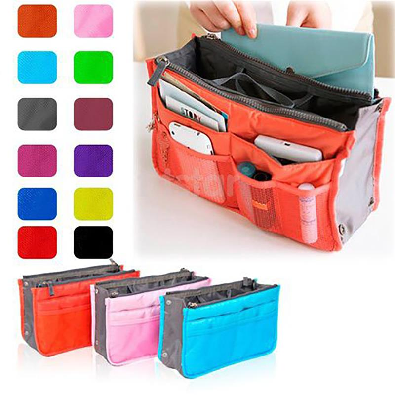 Cosmetic Bag Makeup Bag Travel Organizer Portable Beauty Pouch Functional Bag Toiletry Make Up Makeup Organizers Phone Bag Case(China)