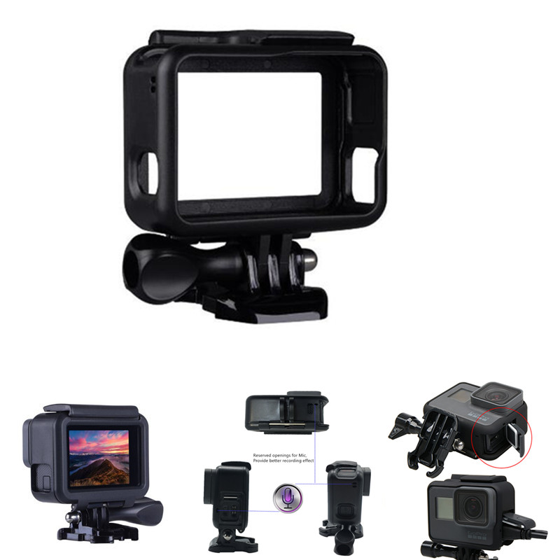 Suptig For GoPro Accessories Protective Frame Case Camcorder Housing Case For GoPro Hero2018 Hero5 6 Hero 7 Black Action Camera