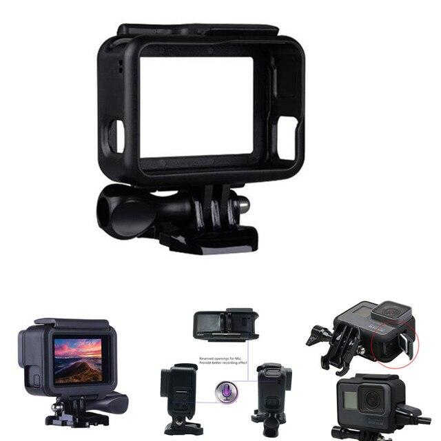 Suptig لملحقات GoPro إطار واقي غلاف كاميرا الفيديو الإسكان لgopro Hero2018 Hero5 6 Hero 7 الأسود عمل الكاميرا