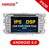 MEKEDE 2Din Android9.0 IPS Screen+DSP Car accessories dvd player For FORD/Focus/Mondeo/S MAX/C MAX/Galaxy GPS navigation