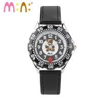 Luxury Brand Kids Watches Waterproof Fashion Bear Luminous Leather 3D Flower Quartz Wrist Watch Clock Hours 2018 saat Relogio