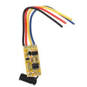 Image 4 - リモートスイッチ DC3.7V 4.2 v 5 v 6 v 7.4 v 8.4 v 9 v 12 v 出力 0 12v ドライ接点リレースイッチング値 no com nc 315 mhz 433 mhz