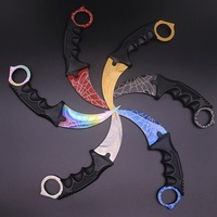 New CS GO Knife 8 Color Multi Tools Outdoor Survival Knife Karambit Knives Camping Hunting Counter