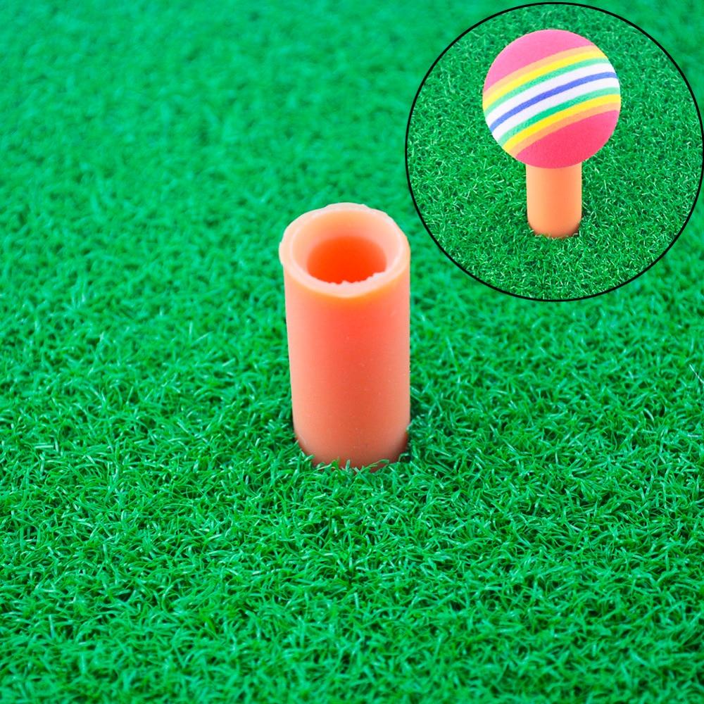 Rosana Indoor Backyard Toys Nylon Golf Mat 3 styles Training Hitting Pad Practice Rubber Tee Holder Grass MatGolf Training Aids