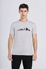 2019 Men Merino Wool T Shirt 100% Merino Wool T Shirts Soft Quick drying Moisture Wicking &Odor Resistance  Men Size S XL 170G