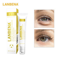 LANBENA New Upgrate Anti-Puffiness Dark Circle Anti-Aging Peptide Wrinkle Eye Serum Moisturizing Care Beauty 65