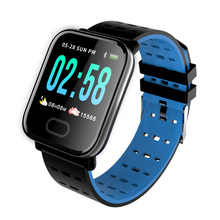 Купить с кэшбэком Cheap Watch A6 Smartwatch Fitness Tracker Blood Pressure Heart Rate Monitor Pedometer Smart watch for Xiaomi Android Iphone