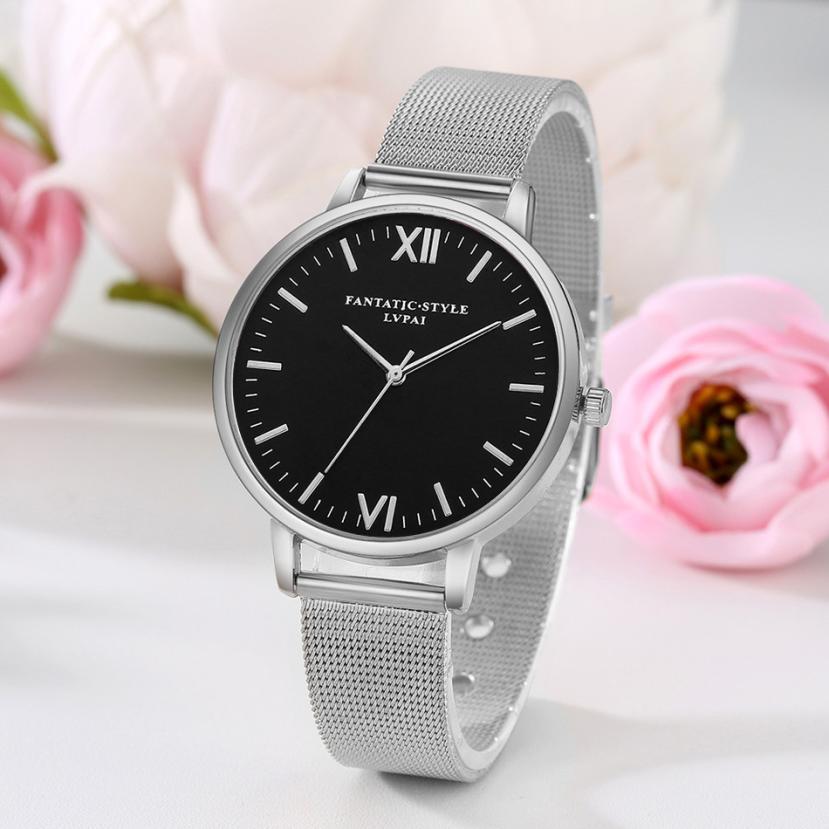 Lvpai Watches Women  Stainless Steel Bracelet  Analog Quartz Watch Luxury Brand Casual  Wristwatches Montre Femme 18feb24 #6